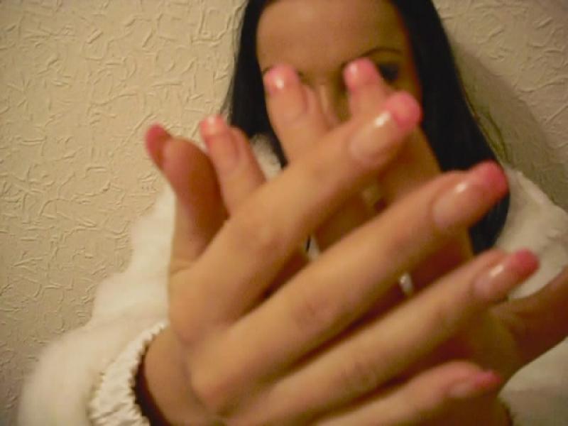 Hand und Nagelfetisch